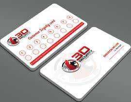 Nro 328 kilpailuun Customer Loyalty card käyttäjältä Sadikul2001