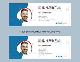 #30 para Design for 2 email signatures (Company, Employee) por ramizasultana610