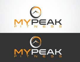 #174 para Design a Logo for mypeak fitness por LOGOMARKET35