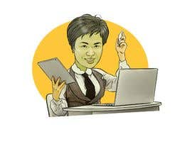 #7 untuk Photo to Caricature image for use in html projects oleh berragzakariae