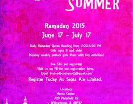#12 untuk Design a Flyer for Summer Camp oleh aliceoncloud9