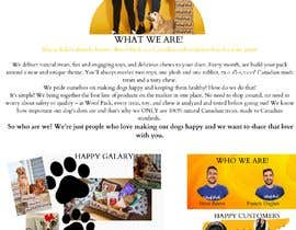 Nro 13 kilpailuun Spice up our About US Page käyttäjältä buddhimarat