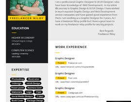 #67 for Build me a Template to present CV's of candidates on af niloybanik084