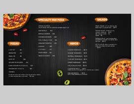 #58 cho Create an Italian restaurant (pizza, etc.) menu to be displayed on a TV bởi DesignerBU