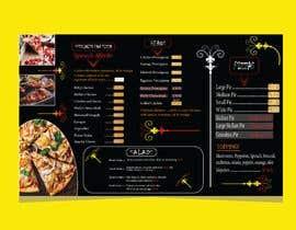 #60 cho Create an Italian restaurant (pizza, etc.) menu to be displayed on a TV bởi MDPARVEZ1015