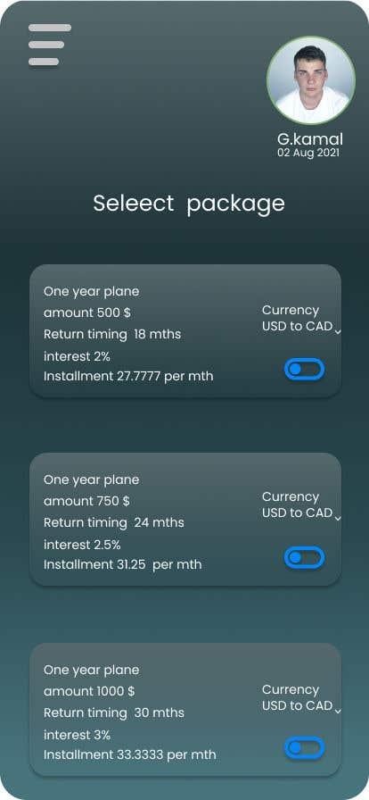 Kilpailutyö #                                        102                                      kilpailussa                                         invoice app ui