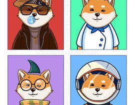 #34 for Illustrate Shiba Inu 2d Avatars using Doge Pound as inspiration for art style by Souravb08
