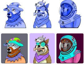 #23 for Illustrate Shiba Inu 2d Avatars using Doge Pound as inspiration for art style by sohag02773