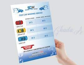 #22 untuk Price Board and IG Post Design for Car Wash Shop oleh Silversteps