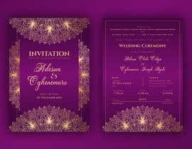 Nro 26 kilpailuun create wedding invitation card käyttäjältä nowshinurmi76