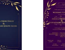 Nro 29 kilpailuun create wedding invitation card käyttäjältä mdtutul07