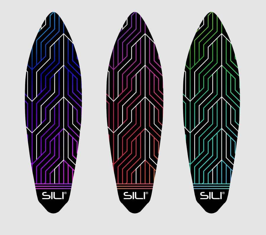 Proposition n°                                        19                                      du concours                                         Design Electric Skateboard Grip Tape (top of skateboard)