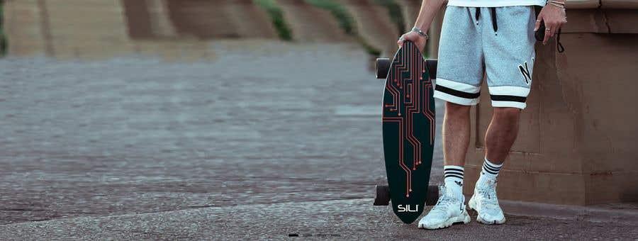 Konkurrenceindlæg #                                        38                                      for                                         Design Electric Skateboard Grip Tape (top of skateboard)