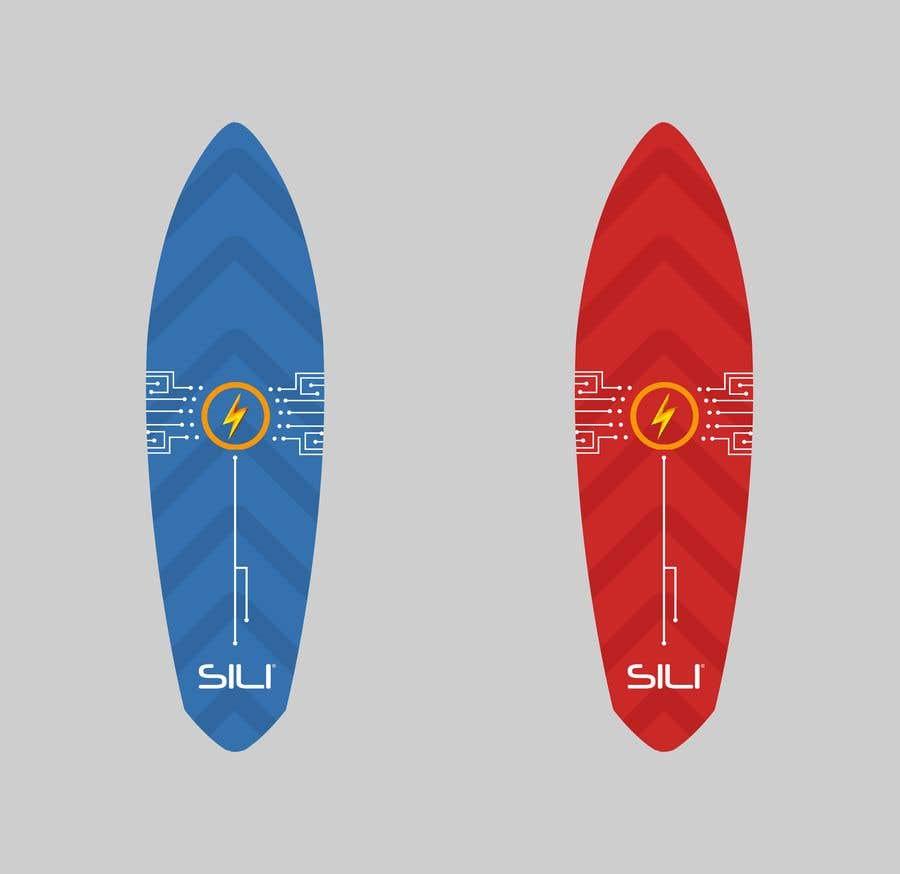 Konkurrenceindlæg #                                        44                                      for                                         Design Electric Skateboard Grip Tape (top of skateboard)