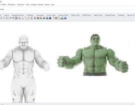 nº 4 pour Hulk 3d Model par abdullahvidinlio