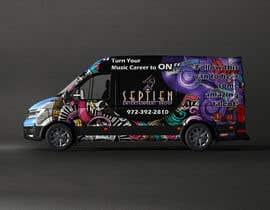 #81 cho Van wrap design  for an entertainment company bởi Bukhari690
