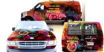 Bài tham dự #42 về Graphic Design cho cuộc thi Van wrap design  for an entertainment company