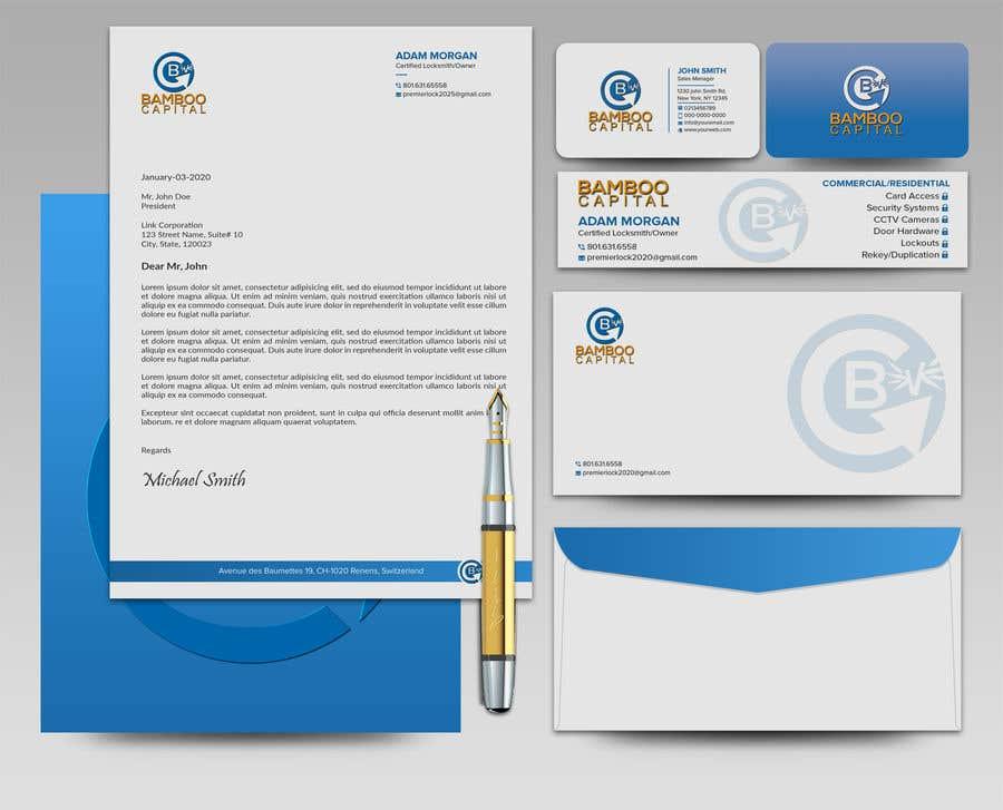 Konkurrenceindlæg #                                        164                                      for                                         Business Stationery Design