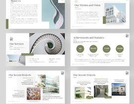 Nro 44 kilpailuun ENGINEERING CONSULTANT OFFICE FOR REAL ESTATE PROJECT DEVELOPMENT Preparing a high professional brochure and power point presentation and a mobile friendly brochure käyttäjältä Amit221007