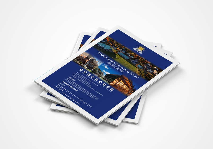 Bài tham dự cuộc thi #                                        8                                      cho                                         Create an Updated Design for our High School Catalog for China