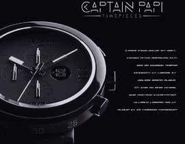 "#694 cho Make a Logo ""Captain Papi Timepieces"" bởi EagleDesiznss"