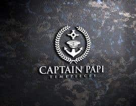 """#700 cho Make a Logo """"Captain Papi Timepieces"""" bởi sohelranafreela7"""