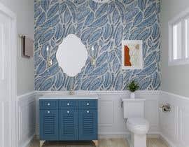 #39 cho Half bath interior design in 3d - coastal transitional design style bởi ahmedkhijir