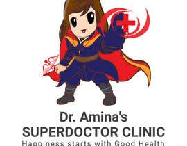#57 untuk Character Logo for SuperDoctor Clinic oleh ronypb1984