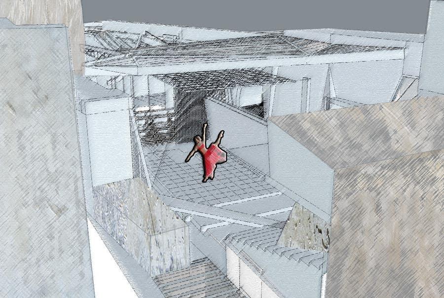 Penyertaan Peraduan #14 untuk Draw/illustrate a visual for a dance theatre