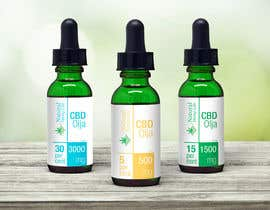#116 cho Create a series of new labels for our CBD Oils. bởi gallipoli