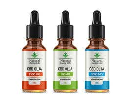 #171 cho Create a series of new labels for our CBD Oils. bởi horon99design