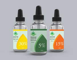 #161 cho Create a series of new labels for our CBD Oils. bởi Firmind