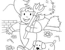 #43 for Kids Farm Animal Coloring Book af aishnakushwah
