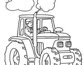 #50 for Kids Farm Animal Coloring Book af aishnakushwah