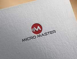 "#491 untuk Design a Logo for the name ""Micro Master"" oleh bmstnazma767"