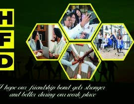 #15 for Friendship Day Office Environment Greeting Images by tamalgraphics