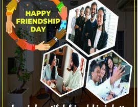 #16 for Friendship Day Office Environment Greeting Images by tamalgraphics