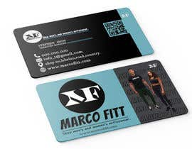 #369 for marcofitt business card by Ju6085232
