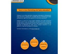 #25 for Need a brochure designer for an online education company af aishaazzahra0101