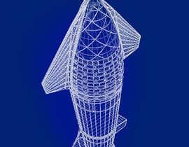 #47 for Blue Print design of Space X Starship Rocket af sattarrahmani