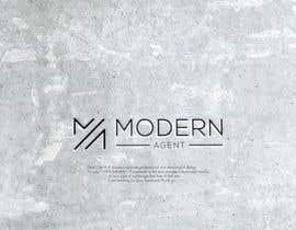 #3521 untuk Modern Agent Logo oleh anubegum
