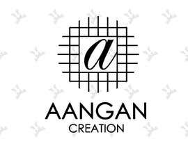 #52 untuk Need a logo for our company Aangan Creation deals in unstiched dress material oleh Zoommaker