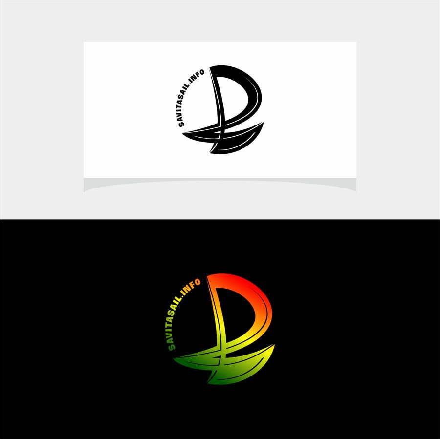 Kilpailutyö #                                        200                                      kilpailussa                                         Design logo for a sailing catamaran