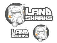 Graphic Design Konkurrenceindlæg #72 for Land Sharks (images for t-shirts)