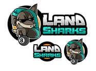 Graphic Design Konkurrenceindlæg #108 for Land Sharks (images for t-shirts)