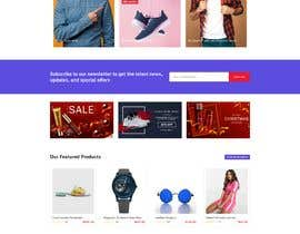 #57 untuk Create a website (online store e-Commerce) ***NO WORDPRESS ALLOWED*** oleh zubairmukhtar92