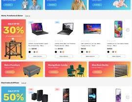 Nro 16 kilpailuun Create a website (online store e-Commerce) ***NO WORDPRESS ALLOWED*** käyttäjältä faridahmed97x