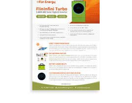 #33 for Design a Brochure for a new electrical product af Rameezraja8