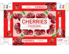 #5 for Package box for cherry af sandihardian