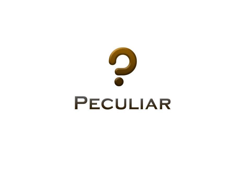 Kilpailutyö #91 kilpailussa Design a Logo for Peculiar